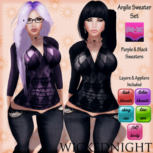 WickedNight - Argile Sweater - Going Bust